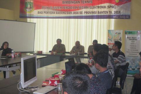 Banten Segera Bentuk Unit Kerja Pengadaan Barang Jasa