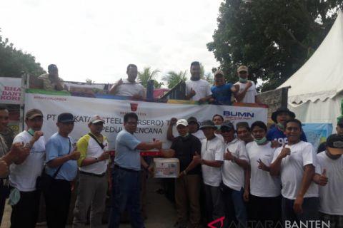 Krakatau Steel Berangkatkan Bantuan Ke Lombok