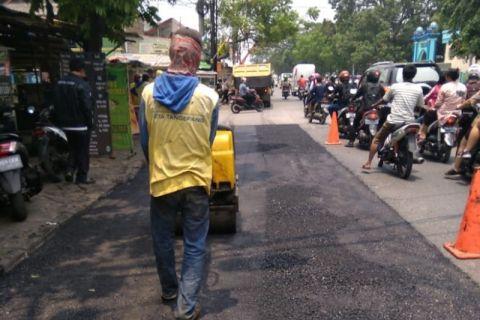 Pembangunan jalan di Kota Tangerang