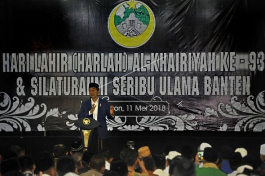 Presiden Jokowi Hadiri Harlah Al-Khairiyah Cilegon