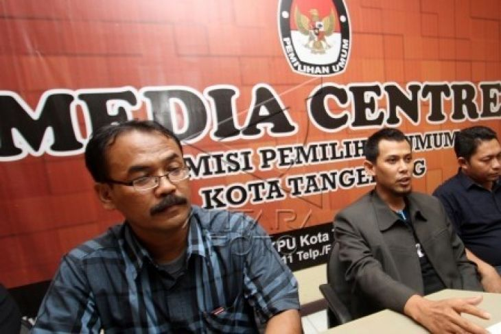 KPU Kota Tangerang Tetapkan 50 Caleg Terpilih