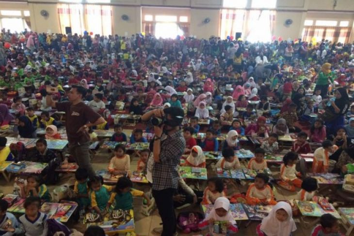 Alfamart Dan Nestle Selenggarakan Lomba Mewarnai Antara News Banten