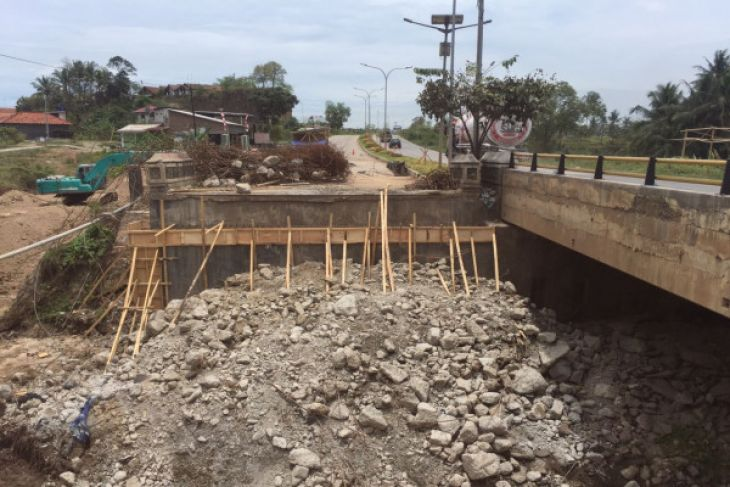 DPUTR Cilegon Lanjutkan Pekerjaan Jembatan Cigeblag JLS