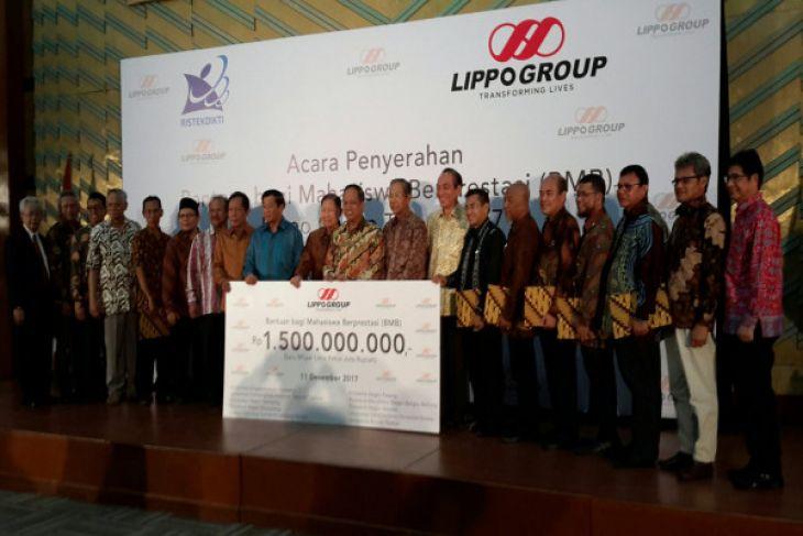 Lippo Group Salurkan Beasiswa 10 Perguruan Tinggi