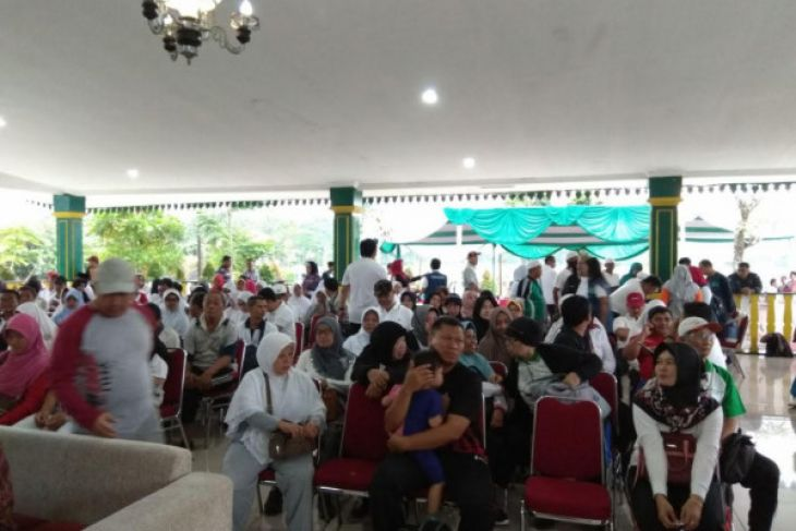Sebanyak 713 Calon Haji Ikut Tes Kebugaran
