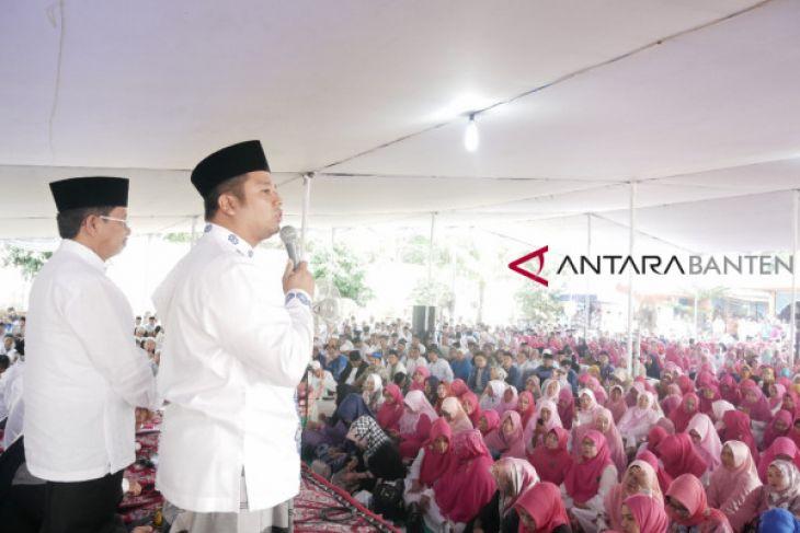 Arief-Sachrudin Gelar Silaturahmi Akbar Akhiri Masa Kampanye
