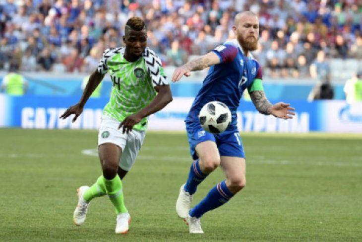 Piala Dunia - Nigeria Jaga Asa Dengan Tumbangkan Islandia 2-0