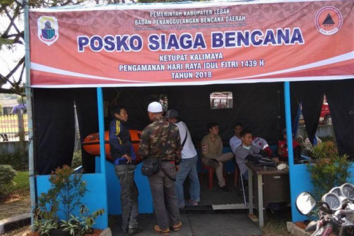 BPBD Lebak Dirikan Posko Siaga Bencana Alam