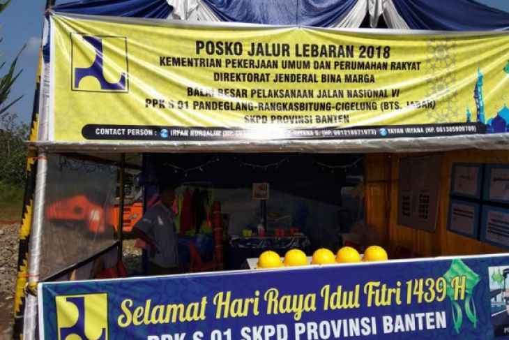 Arus Mudik - DPUPR Banten Dirikan Posko Mudik