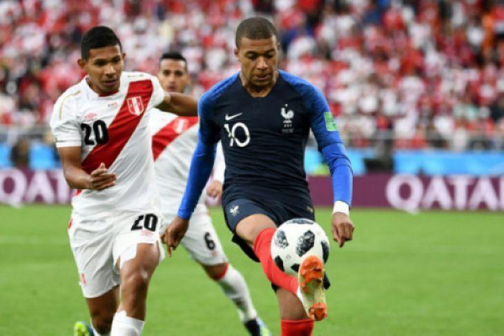 Piala Dunia - Prancis Lolos 16 Besar Setelah Kalahkan Peru