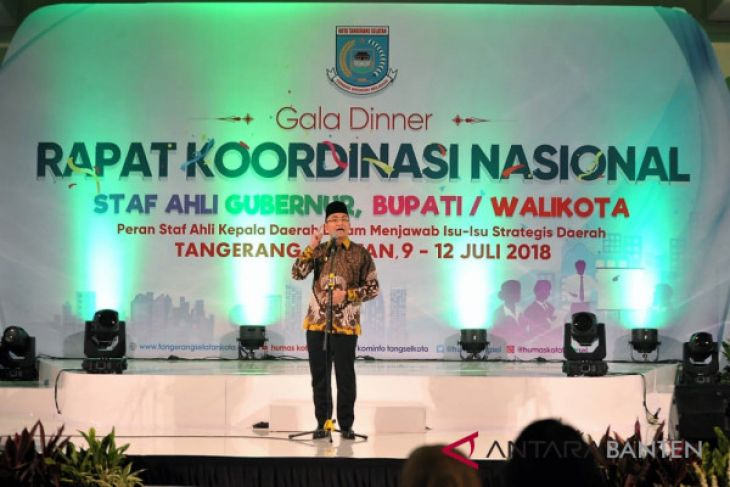 Wagub Buka Rangkaian Rakornas Staf Ahli Indonesia