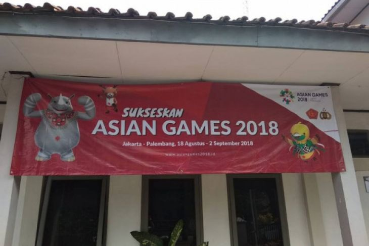 Pemkab Lebak Sebar Spanduk Sosialisasi Asian Games