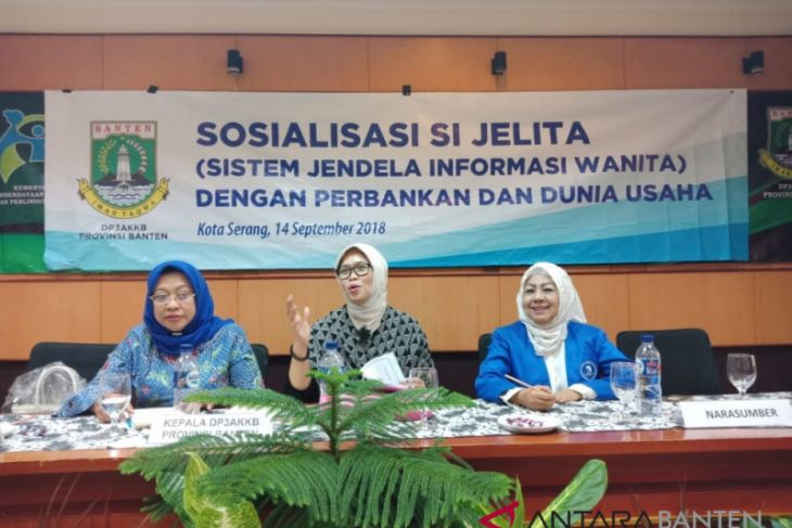 Pemprov Banten Kurangi Kesenjangan Ekonomi Perempuan