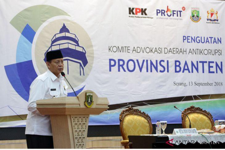 Gubernur Dukung Penguatan Anti Korupsi Di Banten