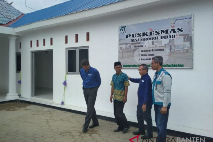 SRI Bangunkan Puskesmas Bagi Warga Grogol Banten