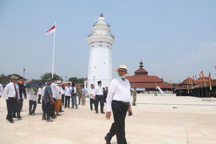 Gubernur Ajak Warga Rayakan HUT Di Banten Lama