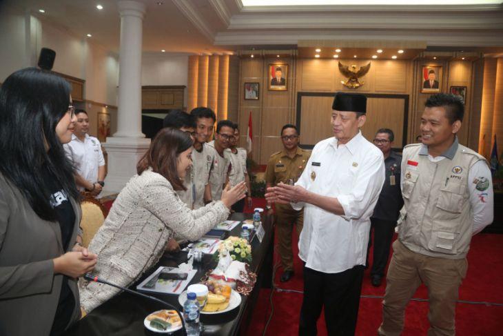 Gubernur Banten Terima Tim Ekspedisi 34 Gubernur