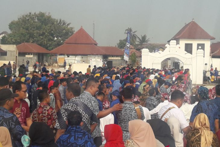 Ribuan Warga Rayakan HUT Di Banten Lama