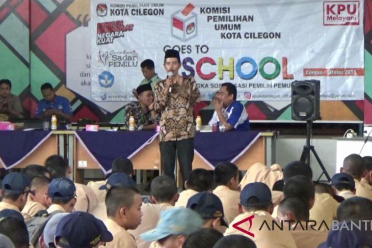 KPU Cilegon Sosialisasi Pemilu Pada Pemilih Pemula Melalui