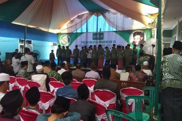 NU Lebak Ajak Warga Nahdliyin Dukung Jokowi-KH Ma'ruf Amin