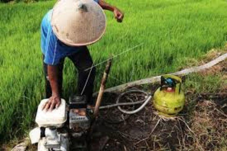 Distanbun  Lebak Awasi Pompa Bantuan Kementerian Pertanian