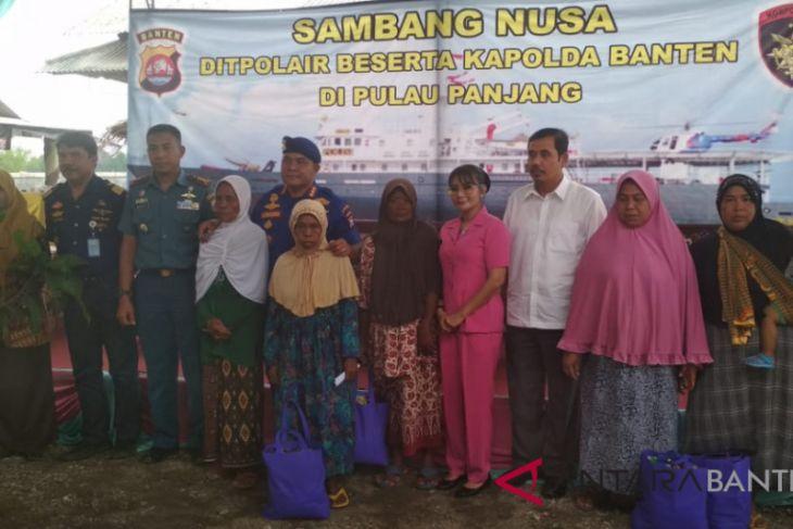 Polair Polda Banten Gelar Sambang Nusa Ke Pulo Panjang