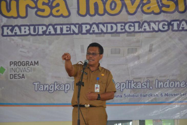 Sekda Pandeglang Minta Kades Berinovasi Untuk Percepat Kemajuan Desa