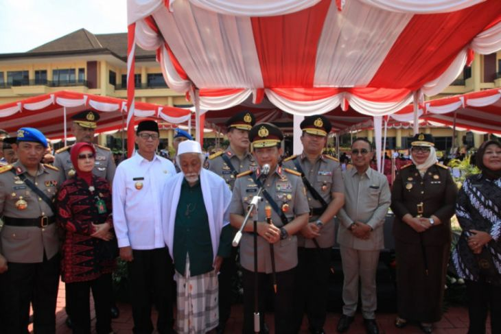 Kapolri Resmikan Kenaikan Tipe Polda Banten