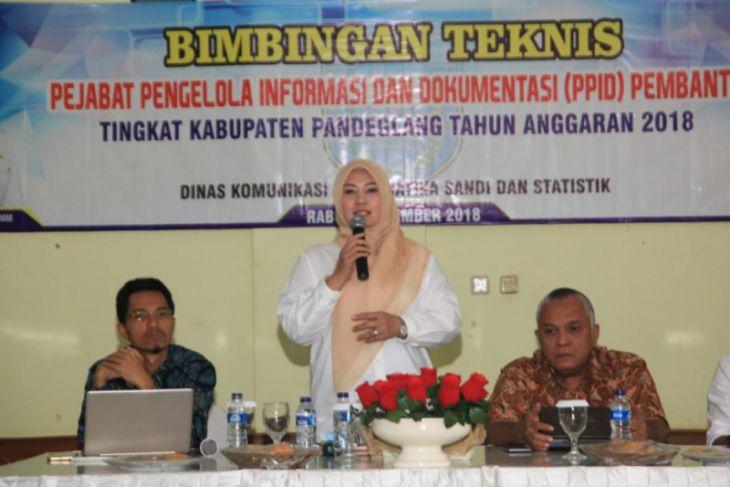 Bupati Minta OPD Aplikasikan Perbup No. 65 Tahun 2018