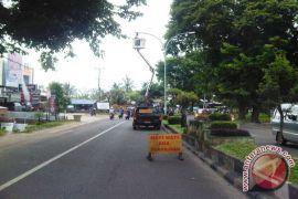 Lampu penerangan Kota Bengkulu gunakan sistem prabayar