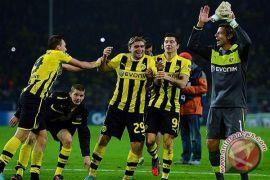 Immobile cetak gol saat Dortmund kalahkan Arsenal