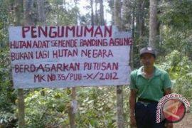Ribuan hektare hutan konservasi masuk kawasan adat