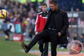 Diego Simeone diskors empat pertandingan