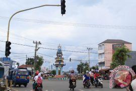 Pengatur Lalu Lintas di Bengkulu Berfungsi Lagi