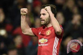Liga Europa - Manchester United melenggang ke perempatfinal berkat Juan Mata