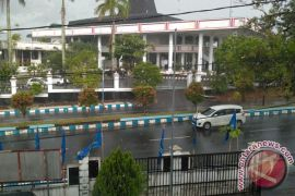 Kota Bengkulu diguyur hujan