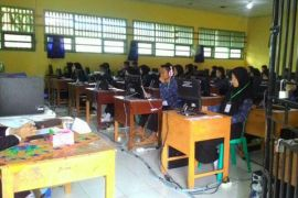 215 Pelajar SMK Bengkulu Ikut Ujian Susulan