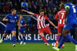 Atletico Madrid Singkirkan Leicester, Agregat 2-1
