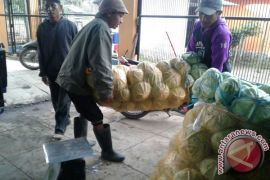 Warga Perbatasan Jualan Sayur Ke Malaysia