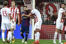 Mengejutkan, Barcelona Ditahan Seri Olympiakos
