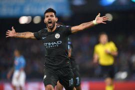 Aguero terancam absen vs Stoke City