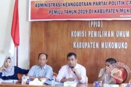 KPU berencana lantik tiga komisioner KPU Mukomuko