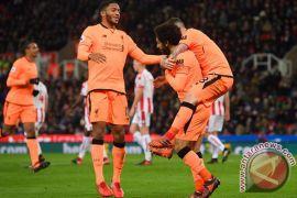 Mane Dan Salah Luar Biasa Saat Liverpool Tekuk Stoke City
