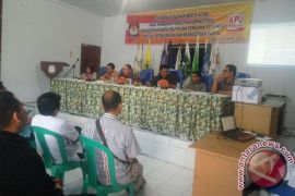 KPU Kota Bengkulu gelar bimtek pemutakhiran pemilih