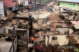 Sepuluh rumah terbakar di Bengkulu