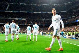 Liga Champions - Dua gol Ronaldo bantu Real tundukkan PSG
