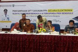 Gubernur Bengkulu sampaikan SPT secara elektronik