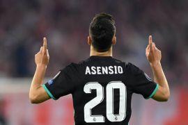 Asensio pastikan kemenangan Real di markas Bayern