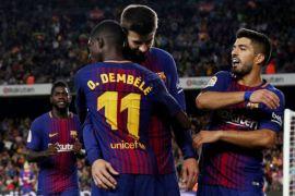 Dembele tampil menawan saat Barca tundukkan Villarreal