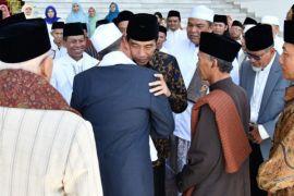 Relawan doakan Presiden Jokowi diberi kemudahan pimpin Indonesia